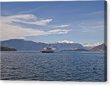 Lake Maggiore Canvas Print by Joana Kruse