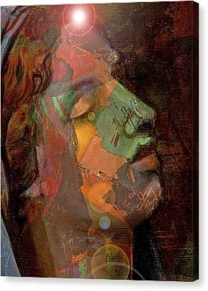 21st Century Madona Canvas Print by William Sosa