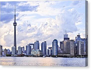 Toronto Skyline Canvas Print
