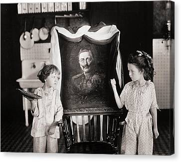 Silent Still: Children Canvas Print