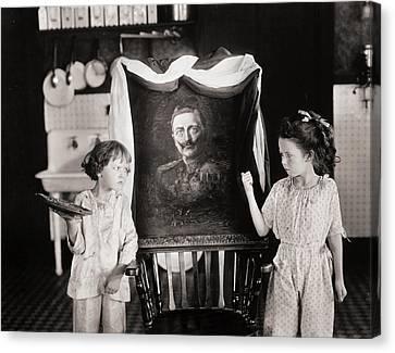 Silent Still: Children Canvas Print by Granger