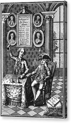 Louis Xvi (1754-1793) Canvas Print by Granger