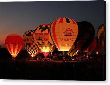 Balloons Canvas Print by Rick Rauzi