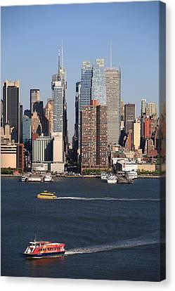 New York City Skyline Canvas Print by Frank Romeo