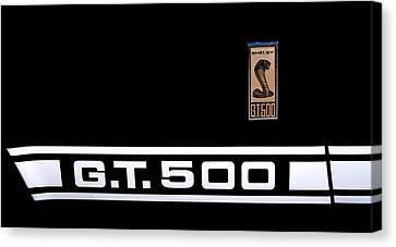1967 Ford Mustang Shelby Gt500 Canvas Print by David Patterson