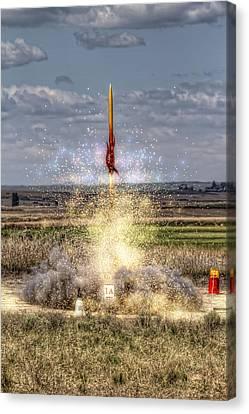 3 2 1 Launch Canvas Print