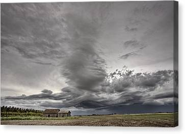 Abandoned Farm Canvas Print by Mark Duffy