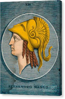 Alexander The Great, Greek King Canvas Print