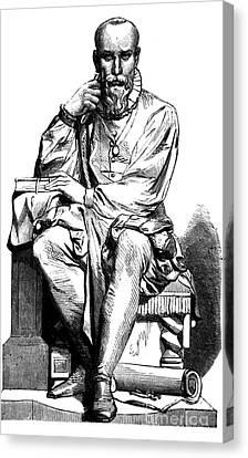 Ambroise Par�, French Surgeon Canvas Print by Science Source