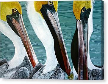 Canvas Print - 3 Amigos by Jon Ferrentino