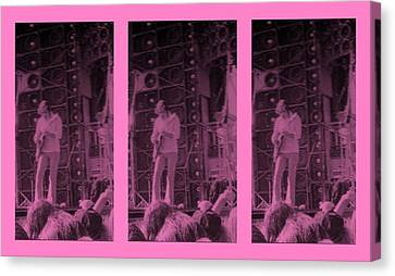 Bob Weir Grateful Dead 74 Dsm Ia Canvas Print by Tim Donovan