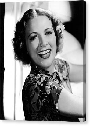 Born To Dance, Eleanor Powell, 1936 Canvas Print by Everett