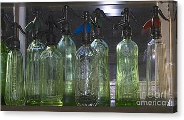 Bottle Of Water  Canvas Print by Odon Czintos
