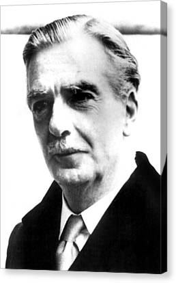 British Prime Minister Anthony Eden Canvas Print by Everett