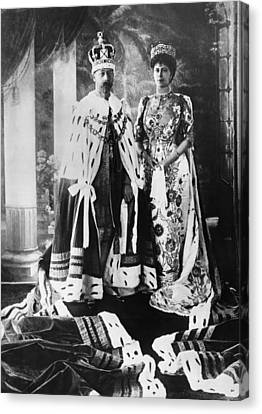 British Royalty. King George V Canvas Print by Everett
