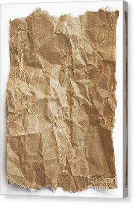 Brown Paper Canvas Print
