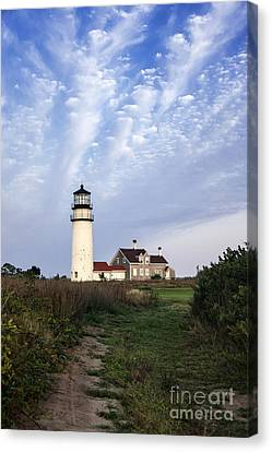 Cape Cod Light Canvas Print by John Greim