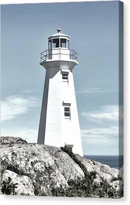 Cape Spear Lighthouse Canvas Print by Steve Hurt