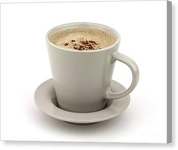 Cappuccino Coffee  Canvas Print