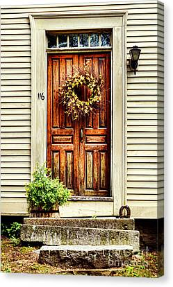 Door Canvas Print by HD Connelly