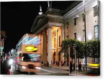 Dublin General Post Office Canvas Print by Josh Whalen