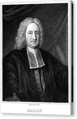 Edmond Halley, English Polymath Canvas Print by Science Source