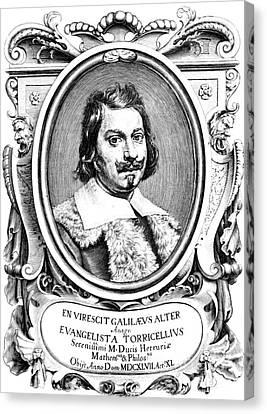 Evangelista Torricelli, Italian Canvas Print by Science Source