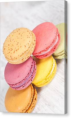 French Macarons Canvas Print by Sabino Parente