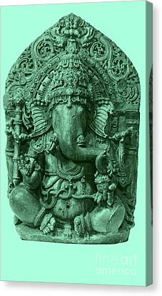 Ganesha, Hindu God Canvas Print by Photo Researchers