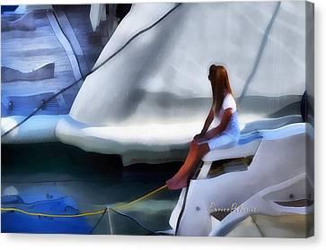 Genoa Canvas Print - Genova Salone Nautico Internazionale - Genoa Boat Show by Enrico Pelos