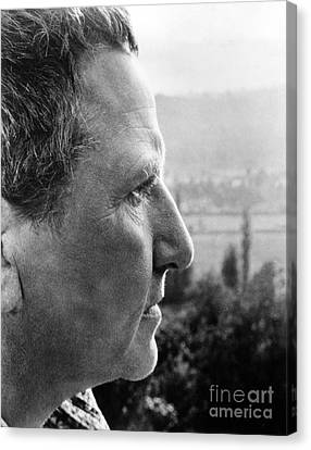 Gertrude Stein (1874-1946) Canvas Print by Granger