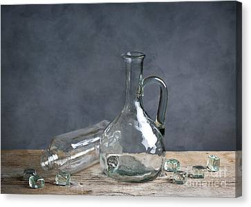 Glass Canvas Print by Nailia Schwarz