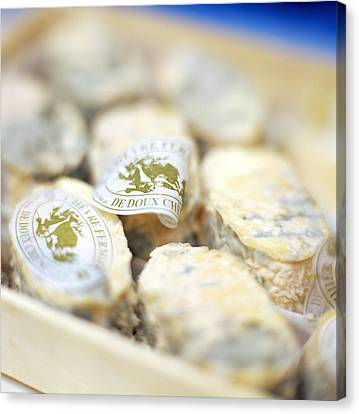 Goat's Cheese Canvas Print by David Munns
