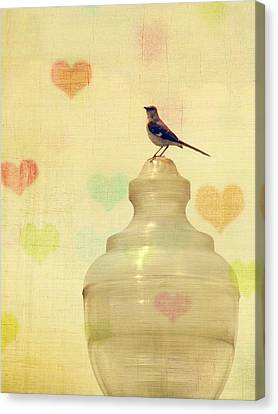 Heartsong Canvas Print by Amy Tyler