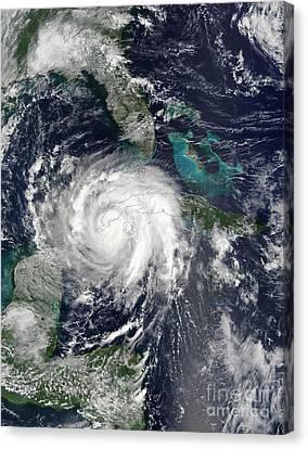 Hurricane Lili Canvas Print by Stocktrek Images