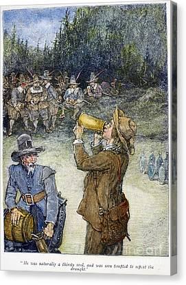 Irving: Rip Van Winkle Canvas Print by Granger