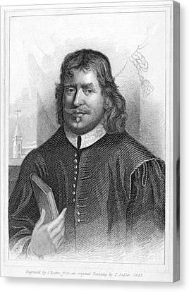 John Bunyan (1628-1688) Canvas Print by Granger