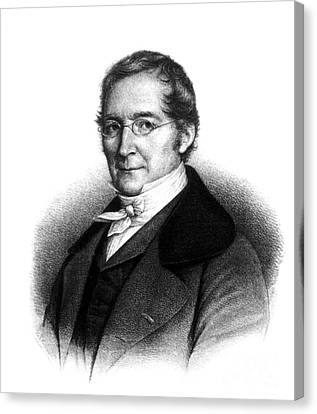 Joseph Gay-lussac, French Chemist Canvas Print by Science Source