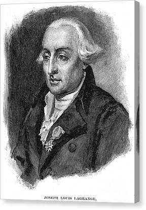 Joseph Louis Lagrange Canvas Print by Granger