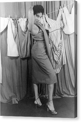 Leontyne Price B. 1927, African Canvas Print by Everett