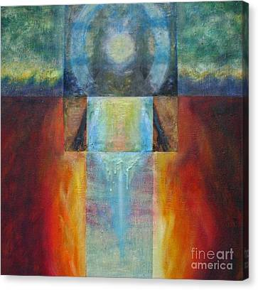 Light Of Mother Earth Canvas Print by Diana Riukas