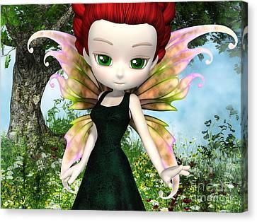 Lil Fairy Princess Canvas Print by Alexander Butler