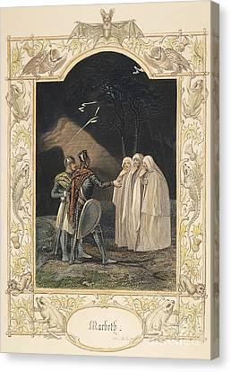 Macbeth, 19th Century Canvas Print by Granger