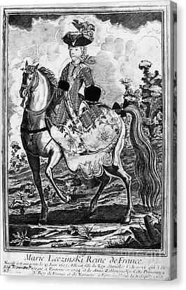 Marquise De Pompadour Canvas Print by Granger