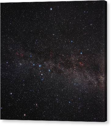 North Celestial Pole Canvas Print by Eckhard Slawik