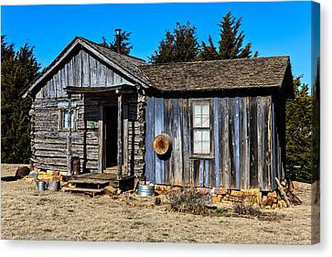 Old Cabin Canvas Print by Doug Long