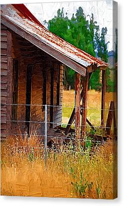Old House In Australia Canvas Print