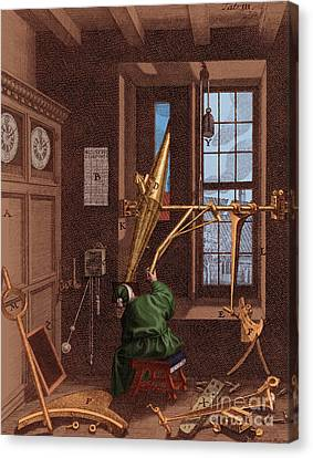 Ole Roemer, Danish Astronomer Canvas Print by Science Source