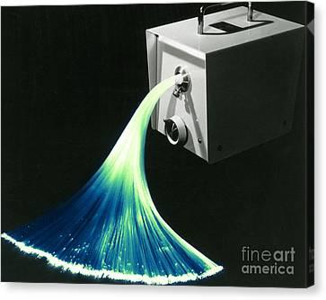 Optical Fibers Canvas Print by Omikron