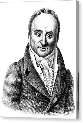 Philippe Pinel, French Physician Canvas Print by Science Source